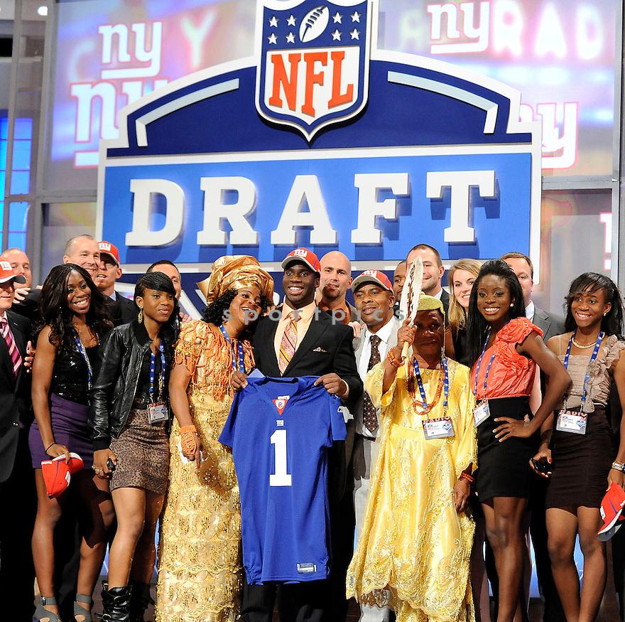 4-28-11.NFL DRAFT .RADIO CITY MUSIC HALL.NEW YORK NY