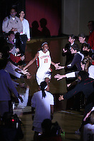 9 November 2006: Stanford Cardinal Candice Wiggins during Stanford's 88-61 win in the first round of the preseason Women's National Invitation Tournament against Loyola Marymount Lions at Maples Pavilion in Stanford, CA.