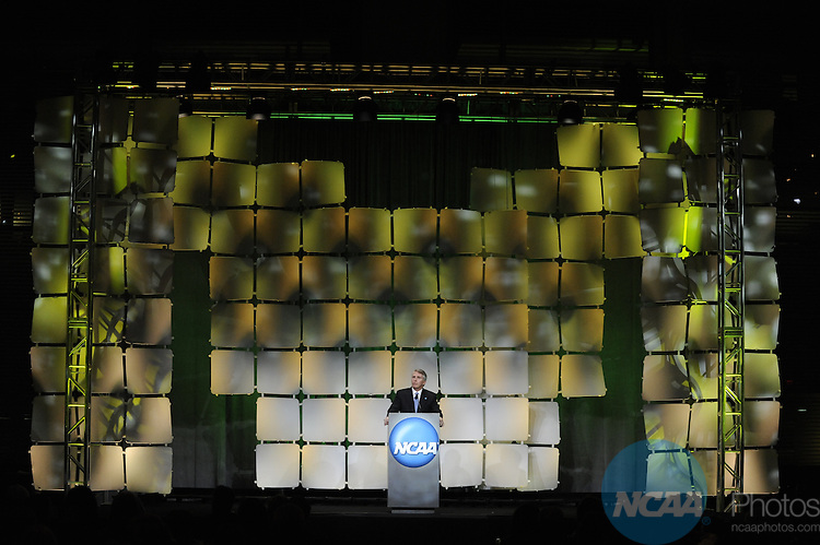 15 JAN 2010: Jack Ford during the Honors Celebration at the 2010 NCAA Convention held at the Marriott Marquis and the Hyatt Regency in Atlanta, GA. Brett Wilhelm/NCAA Photos.
