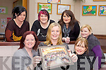 CLASS OF '92: Former students of Causeway Comprehensive School who are organising a reunion of members of the class of 1992, front l-r: Jane O'Connell, Kathleen O'Connor, Helen O'Sullivan. Back l-r: Sandra Guerin-Breen, Fiona Flynn, Michelle Fealy, Norma Lynch.
