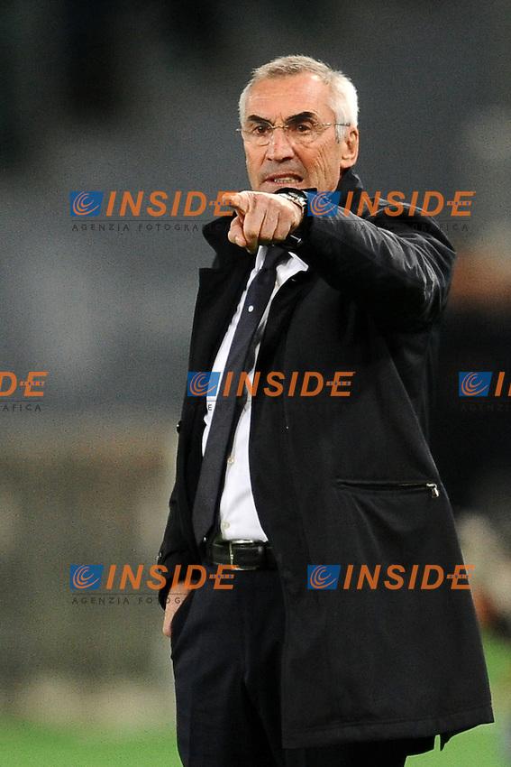 Edoardo Reja, allenatore della Lazio.<br /> Roma 06-01-2014 Stadio Olimpico. Football Calcio 2013/2014 Serie A. Lazio - Inter. Foto Antonietta Baldassarre / Insidefoto