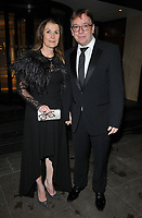 Beverley Sharp and Adam Woodyatt at the Children With Cancer Ball, Grosvenor House Hotel, Park Lane, London, England, UK, on Saturday 11 November 2017.<br /> CAP/CAN<br /> &copy;CAN/Capital Pictures