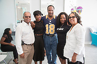 Councilman Franklin 4th District, Riqua Hailes, Honorable Mayor Butts attend Just Weaves By Just Extensions Opens Up Its First Premium Weaving Installation Store In Inglewood, California
