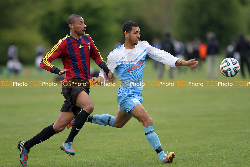 FC Bartlett Vs Clapton Rangers  - Hackney & Leyton Sunday League Football at South Marsh, Hackney Marshes, London - 03/05/15 - MANDATORY CREDIT: Mick Kearns/TGSPHOTO - Self billing applies where appropriate - contact@tgsphoto.co.uk - NO UNPAID USE