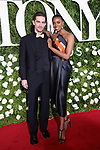 NEW YORK, NY - JUNE 11:  Actress Condola Rashad (R) attends the 71st Annual Tony Awards at Radio City Music Hall on June 11, 2017 in New York City.  (Photo by Walter McBride/WireImage)