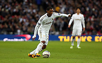 Pictured: Jonathan de Guzman. Sunday 24 February 2013<br /> Re: Capital One Cup football final, Swansea v Bradford at the Wembley Stadium in London.