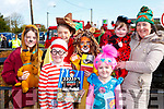 Tierna Dineen. Alan O'Leary, Sarah Cronin, Kaylee, Melissa, Emily and Maeve O'Leary  dressed up as book characters at the Rathmore St Patricks parade on Sunday