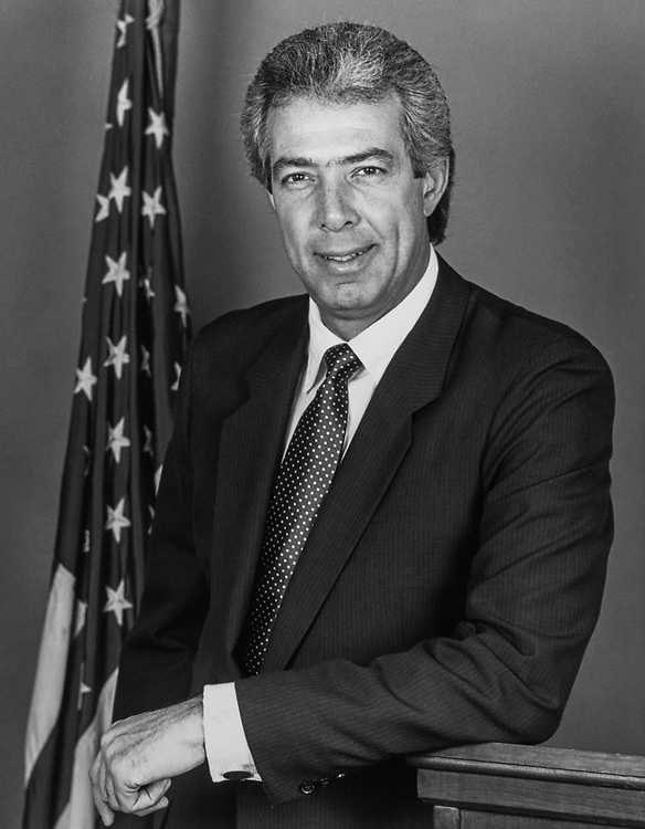 Portrait of Rep. Marty Russo, D-Ill. (Photo by CQ Roll Call)
