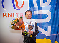Hilversum, Netherlands, December 3, 2017, Winter Youth Circuit Masters, Winner boys 12 years Jesse Tan <br /> Photo: Tennisimages/Henk Koster