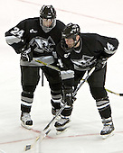 Matt Taormina, Jamie Carroll  The Boston College Eagles defeated the Providence College Friars 3-2 in regulation on October 29, 2005 at Kelley Rink in Conte Forum in Chestnut Hill, MA.  It was BC's first Hockey East win of the season and Providence's first HE loss.