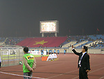 Branding and Pre-match activities prior to the AFF Suzuki Cup 2008 Semi-finals - 1st leg match between Vietnam and Singapore at My Dinh National Stadium on 17 December 2008, in Hanoi, Vietnam. Photo by Stringer / Lagardere Sports