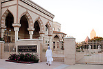 For a Brian Knowlton FF story on Muslim women in the US..USA, Atlanta, GA. 29, OCTOBER, 2010. A man enters the gates of the Al-Farooq Masjid before sunset and prayers in Atlanta... //// KENDRICK BRINSON/LUCEO for the International Herald Tribune