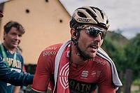 stage winner Sonny Colbrelli (ITA/Bahrain Merida)<br /> <br /> Stage 3: Oberstammheim &gt; Gansingen (182km)<br /> 82nd Tour de Suisse 2018 (2.UWT)