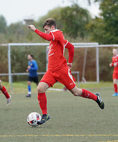 Sebastian Krieg (Büttelborn) - Büttelborn 03.10.2019: SKV Büttelborn vs. FSG Riedrode, Gruppenliga Darmstadt