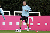 09.10.2012: Nationalmannschaft Training in Frankfurt