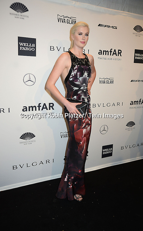 Ireland Basinger Baldwin attends the amfAR New York Gala on February 5, 2014 at Cipriani Wall Street in New York City.