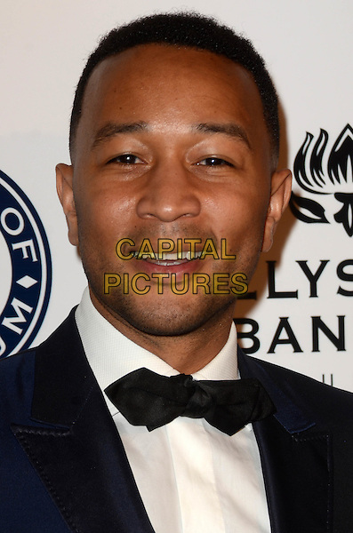 LOS ANGELES, CA - JANUARY 7: John Legend at the The Art Of Elysium Tenth Annual Celebration 'Heaven' Charity Gala at Red Studios in Los Angeles, California on January 7, 2017. <br /> CAP/MPI/DE<br /> &copy;DE/MPI/Capital Pictures