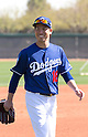 Kenta Maeda (Dodgers),<br /> FEBRUARY 27, 2016 - MLB :<br /> Los Angeles Dodgers spring training baseball camp in Glendale, Arizona, United States. (Photo by Thomas Anderson/AFLO) (JAPANESE NEWSPAPER OUT)