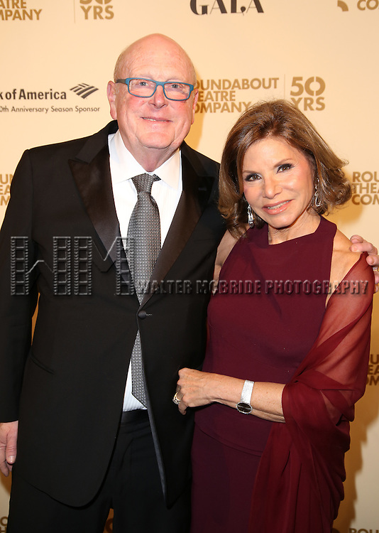 Thomas E. Tufts attends the Roundabout Theatre Company's  50th Anniversary Gala at The Waldorf-Astoria on February 29, 2016 in New York City.