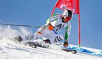 SOELDEN, AUSTRIA, 27.10.2013 - COPA DO MUNDO DE ESQUI ALPINO - Benedikt Staubitzer da Alemanha  durante execução do Audi FIS Copa do Mundo de Esqui Alpino, corrida de slalom gigante em Soelden na Austria , neste domingo, 27. (Foto: Primoz Jeroncic / Pixathlon / Brazil Photo Press).