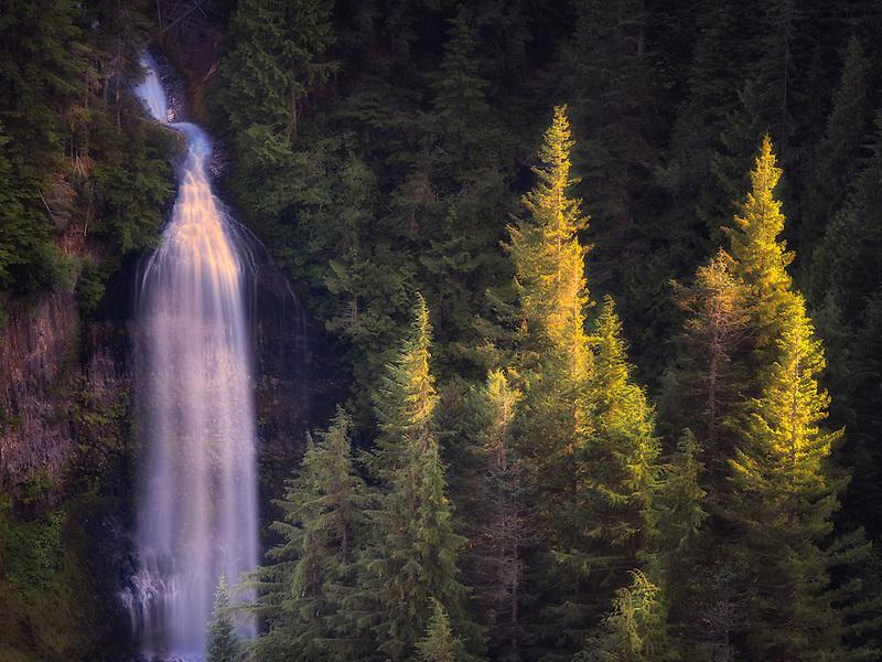 Martha Falls. Mt. Rainier National Park, Washington
