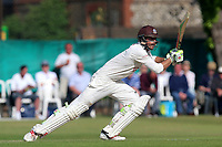 Ben Foakes in batting action for Surrey during Surrey CCC vs Essex CCC, Specsavers County Championship Division 1 Cricket at Guildford CC, The Sports Ground on 11th June 2017