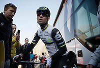 Mark Cavendish (GBR/DimensionData) ready to leave for the start <br /> <br /> 107th Milano-Sanremo 2016