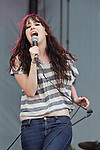 Alex Kandel of Sleeper Agent performs during the Hangout Music Fest in Gulf Shores, Alabama on May 18, 2012.
