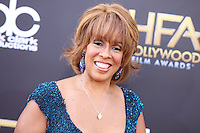 HOLLYWOOD, LOS ANGELES, CA, USA - NOVEMBER 14: Gayle King arrives at the 18th Annual Hollywood Film Awards held at the Hollywood Palladium on November 14, 2014 in Hollywood, Los Angeles, California, United States. (Photo by Xavier Collin/Celebrity Monitor)