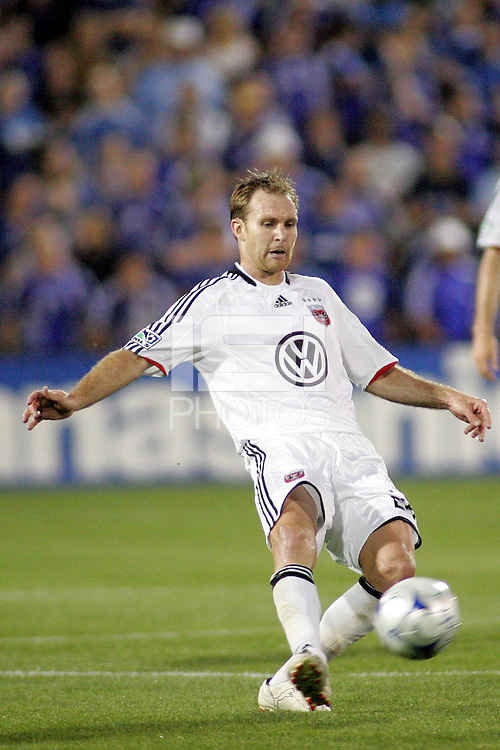 Bryan Namoff..Kansas City Wizards and DC United played to a 1-1 draw at Community America Ballpark, Kansas City, Kansas.