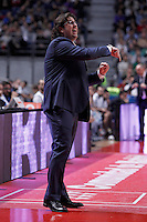 Mapooro Cantu's coach Andrea Trinchieri during Euroleague 2012/2013 match.November 1,2012. (ALTERPHOTOS/Acero) /NortePhoto