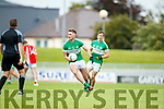 West Kerry in action against Billy McGuire Legion in the Quarter Final of the Kerry Senior County Championship at Austin Stack Park on Sunday.