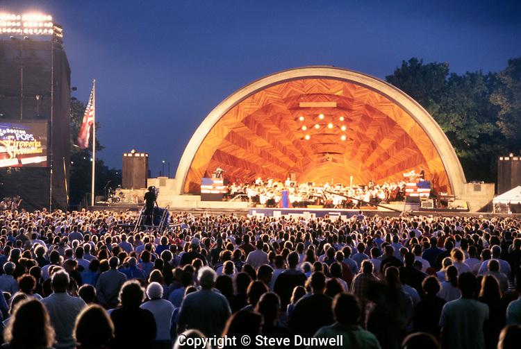 Hatch Shell, Boston Pops, July 4th, Esplanade, Boston, MA