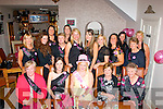 Hens on tour: Annette McElligott,Lixnaw(seated centre)had a fab night in Bella Bia,Tralee for her hen night last Sunday evening along with many friends and family as she is to get married on August 9th next.