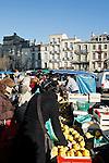 20080202 - France - Aquitaine - Bordeaux<br /> LE MARCHE SAINT-MICHEL, PLACE SAINT-MICHEL A BORDEAUX.<br /> Ref : MARCHE_014.jpg - © Philippe Noisette.