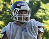 Jared Kaiman, Great Neck North quarterback, surveys the field during football practice at Great Neck North High School on Monday, Aug. 22, 2016.
