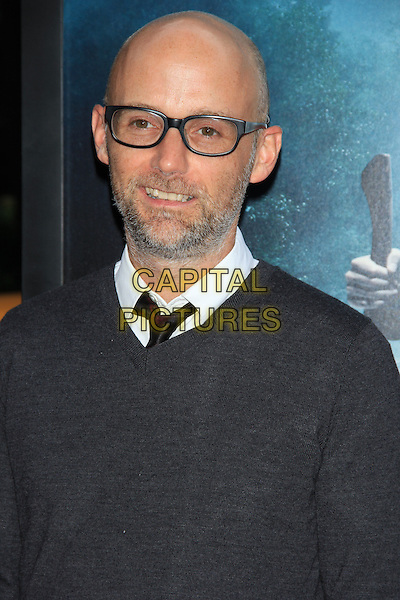 "Moby (Richard Melville Hall).The Premiere of ""Abraham Lincoln: Vampire Hunter"" at the AMC Loews Lincoln Square Cinemas, New York, NY., USA..June 18th, 2012.headshot portrait top grey gray jumper sweater glasses beard facial hair.CAP/LNC/TOM.©LNC/Capital Pictures."