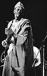 Ali Farka Toure playing the Hackney Empire, London 1991.
