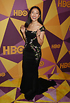 BEVERLY HILLS, CA - JANUARY 07: Actress Constance Wu arrives at HBO's Official Golden Globe Awards After Party at Circa 55 Restaurant in the Beverly Hilton Hotel on January 7, 2018 in Los Angeles, California.