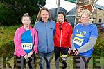 Mary Pathwell (Ballymac), John Lenihan (Ballymac), Eileen Moynihan (Kilmoyley) and Aine Crowe (Kilmoyley) ready to run in the Run Ballymac 10k on Sunday morning.