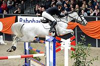ZUIDBROEK - Paardensport, ICCH Zuidbroek, springen internationaal Grote Prijs , 05-01-2019,  Suzanne Tepper met Hergiro van t Kiezelhof