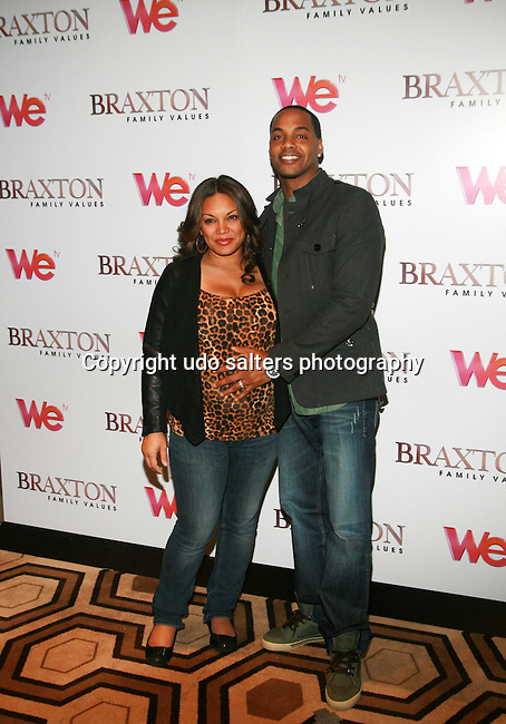 Radio Personality Egypt and husband DJ Fadelf Attend Premiere Screening of BRAXTON FAMILY VALUES Season 2 Held at Tribeca Grand, NY 11/8/11