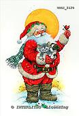 GIORDANO, CHRISTMAS SANTA, SNOWMAN, WEIHNACHTSMÄNNER, SCHNEEMÄNNER, PAPÁ NOEL, MUÑECOS DE NIEVE, paintings+++++,USGI2120,#X# stickers
