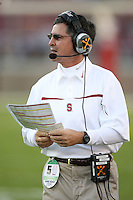 18 November 2006: Walt Harris during Stanford's 30-7 loss to Oregon State at Stanford Stadium in Stanford, CA.