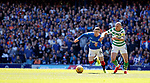 12.05.2019 Rangers v Celtic: Ryan Kent beats Scott Brown