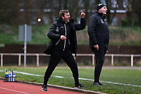 Aveley manager Keith Rowland during Hornchurch vs Aveley, Buildbase FA Trophy Football at Hornchurch Stadium on 11th January 2020