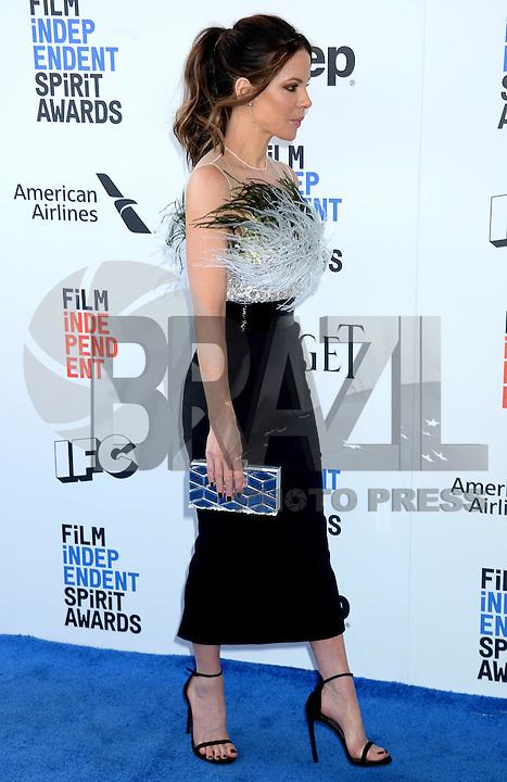 SANTA MONICA, 25.02.20-17 - SPIRIT-AWARDS - Kate Beckinsale durante Film Independent Spirit Awards em Santa Monica na California nos Estados Unidos (Foto: Gilbert Flores/Brazil Photo Press)