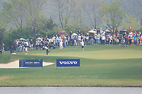 Adrian Otaegui (ESP) in action during the final round of the Volvo China Open played at Topwin Golf and Country Club, Huairou, Beijing, China 26-29 April 2018.<br /> 29/04/2018.<br /> Picture: Golffile | Phil Inglis<br /> <br /> <br /> All photo usage must carry mandatory copyright credit (&copy; Golffile | Phil Inglis)