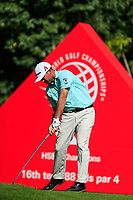Chez Reavie (USA) on the 16th tee during the 3rd round at the WGC HSBC Champions 2018, Sheshan Golf CLub, Shanghai, China. 27/10/2018.<br /> Picture Fran Caffrey / Golffile.ie<br /> <br /> All photo usage must carry mandatory copyright credit (&copy; Golffile | Fran Caffrey)