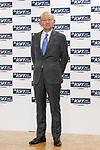 Masahiro Okafuji president and chief executive officer of Itochu attends a photo call for the 30th Japan Best Dressed Eyes Awards at Tokyo Big Sight on October 11, 2017, Tokyo, Japan. The event featured Japanese celebrities who were recognized for their fashionable eyewear. (Photo by Rodrigo Reyes Marin/AFLO)